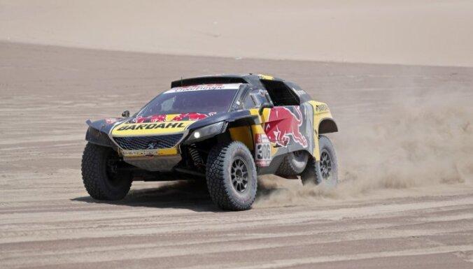 Lēbs gūst uzvaru otrajā Dakaras rallijreida posmā pēc kārtas