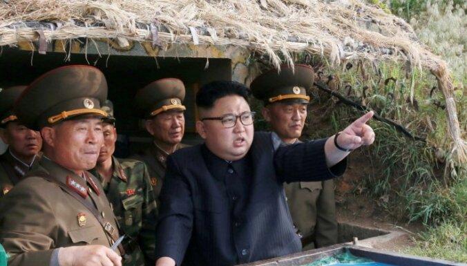 """КНДР запустила несколько ракет """"земля-корабль"""""""