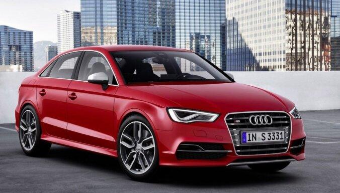 'Audi A3' un 'S3' turpmāk arī kā sedans