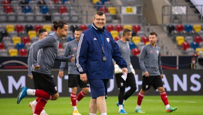 Latvijas futbola izlases spēle ar Vāciju tomēr varēs norisināties