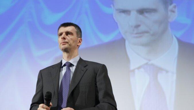 Прохоров возглавил список мировых знаменитостей, которые боятся компьютера