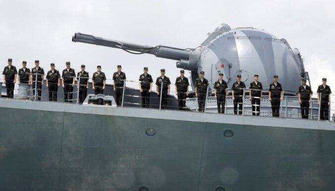 Минобороны: Россия на военных учениях разыгрывает перекрытие Балтийского моря