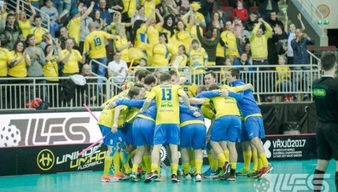 'Pārgaujas' florbolisti uzvar 'Valmieru' un pirmo reizi Latvijas čempionātā tiek pie medaļām
