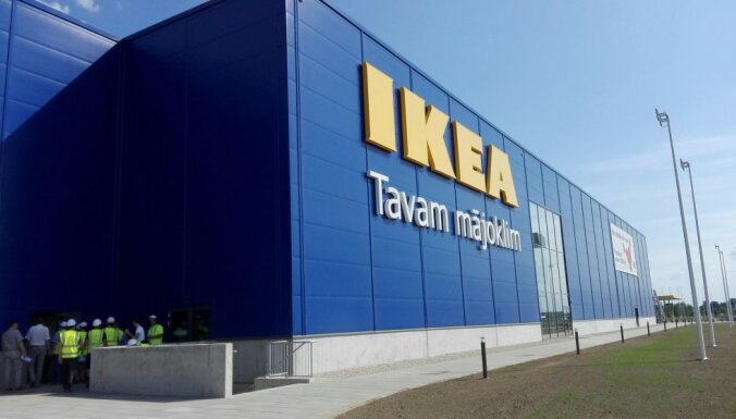 IKEA lielveikala ēka Pierīgā pieņemta ekspluatācijā