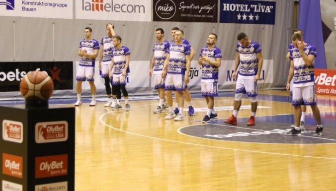 'Jūrmalas' basketbolisti triumfē BBL apakšgrupā