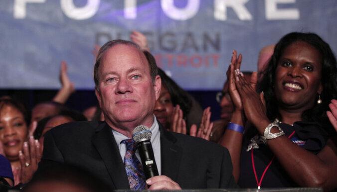 Впервые за 40 лет мэром Детройта стал белый