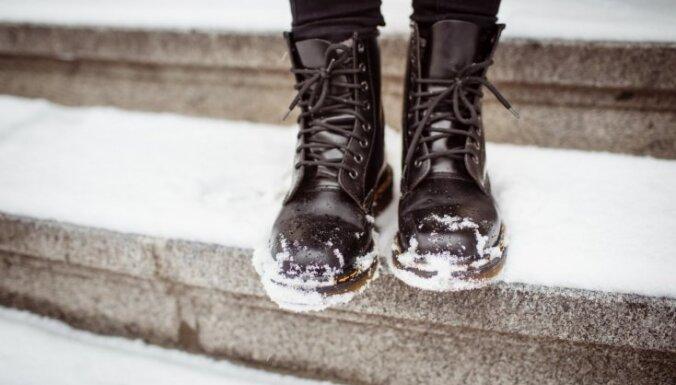 Во вторник в Латвии ожидается снегопад и метель
