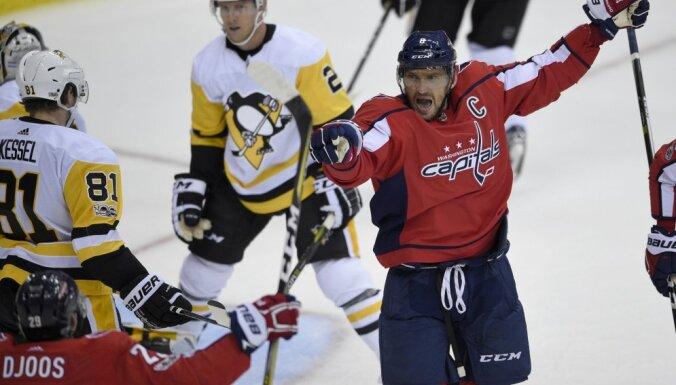 Чемпионат НХЛ. Овечкин разбушевался: российский форвард забросил восьмую шайбу в сезоне