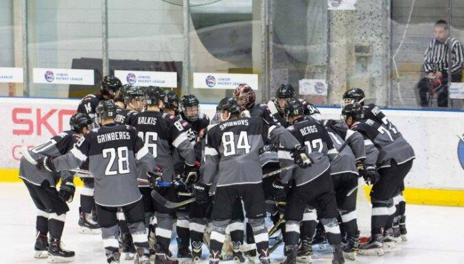 'Rīgas' hokejisti MHL čempionāta mačā izcīna uzvaru pēcspēles metienu sērijā
