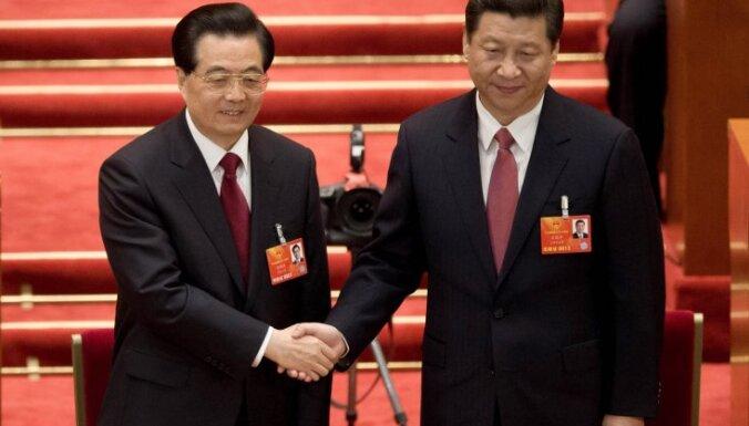 Ķīnas parlaments ievēl jaunu prezidentu