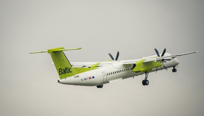 Rīgas lidostā tehnisku problēmu dēļ atgriezies 'airBaltic' reiss Rīga-Helsinki