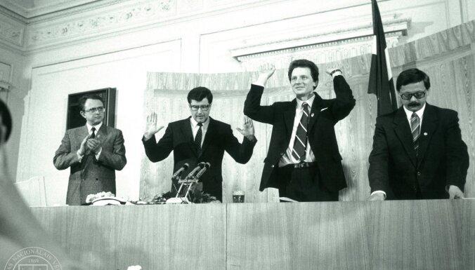 Aprit 31 gads kopš Latvijas neatkarības atjaunošanas