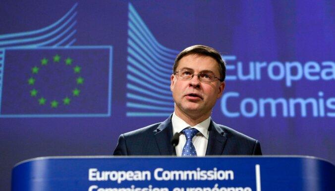 Домбровскис: Евросоюз должен централизованно бороться с отмыванием денег
