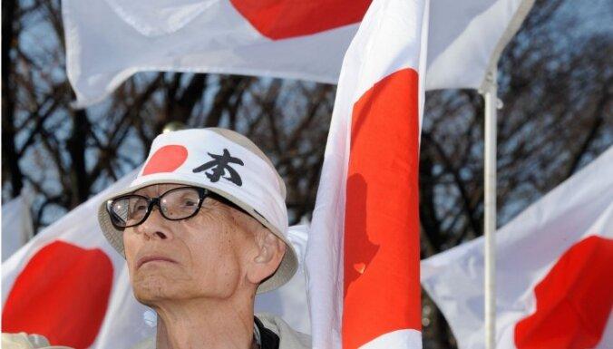 Japānas iedzīvotāju skaita samazināšanās temps 2010.gadā sasniedzis jaunu rekordu