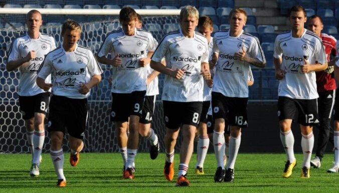 Latvijas futbola izlase noslīdējusi vēl zemāk FIFA rangā