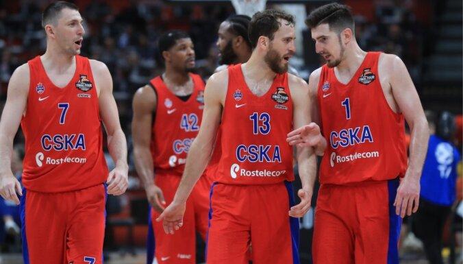 ЦСКА разгромил ВЭФ в первом матче 1/4 финала Единой лиги ВТБ