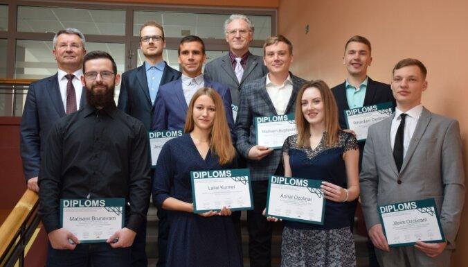LLU bakalaura un maģistra darbi enerģētikā atzīti par labākajiem Latvijā