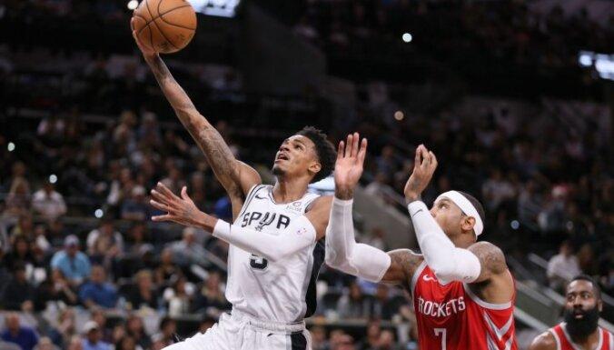 'Spurs' smaga savainojuma dēļ paliek bez sava pamatsastāva saspēles vadītāja