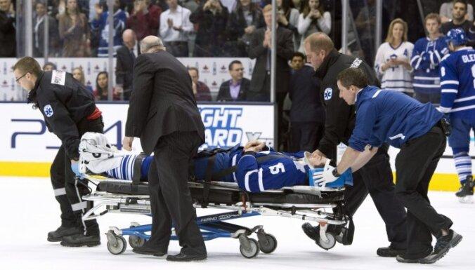 Tūkstošiem bijušo NHL hokejistu pieprasa kompensācijas par galvas traumām