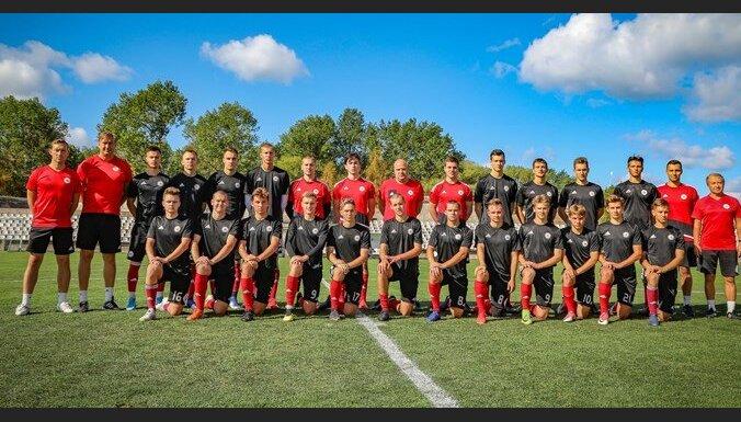 Latvijas U-19 futbola izlase Federāciju kausu noslēdz ar uzvaru pār Kipru