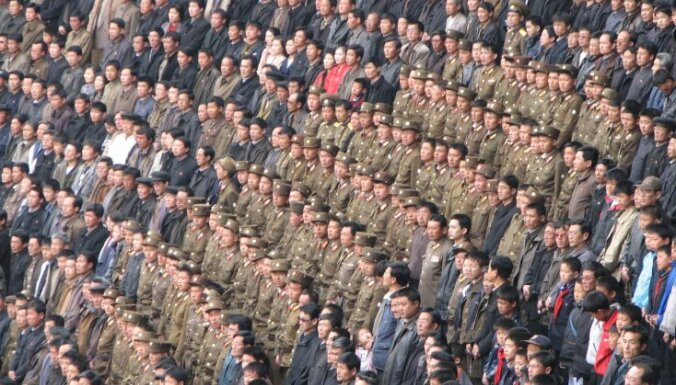 Ziemeļkoreja draud ar jauniem triecieniem Dienvidkorejai