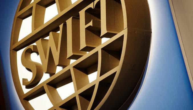 """Комиссия рынка финансов: SWIFT не вносил Латвию в """"чёрный список"""""""