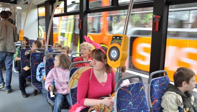 Опрос: рижане довольны общественным транспортом