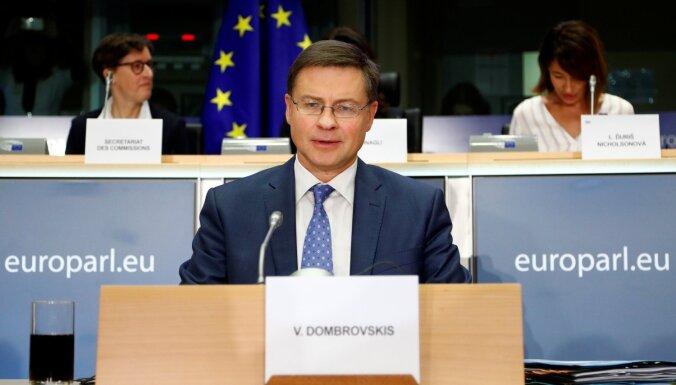 Dombrovska kandidatūru atbalstījuši EP atbildīgo komiteju politisko grupu koordinatori