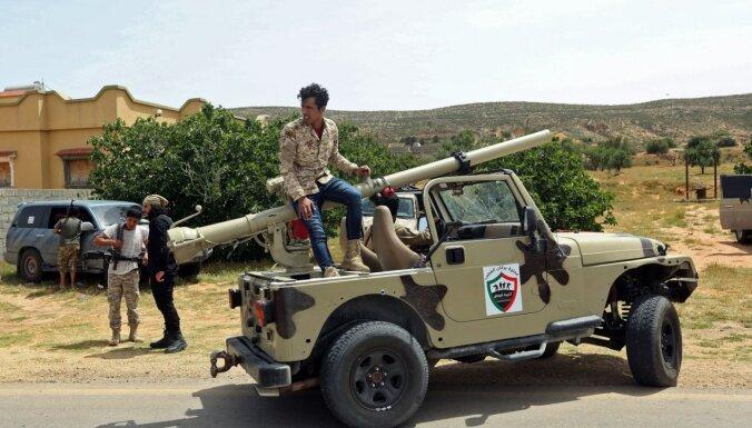 Lībijā krievu algotņus vaino ķīmisko ieroču pielietošanā