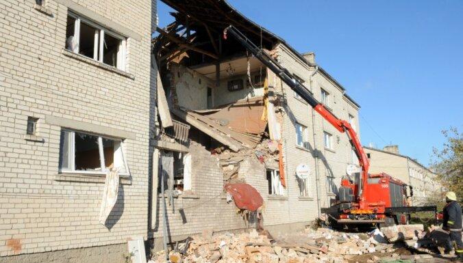Mālpils novada sagruvušās ēkas iekonservēšanai nepietiek līdzekļu
