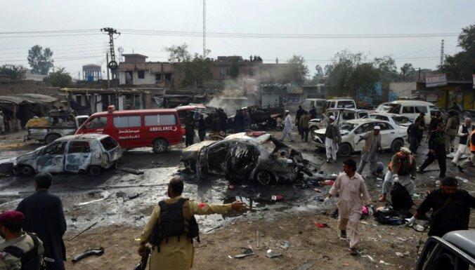 Nāvējošs sprādziens satricina tirgus laukumu Pakistānā