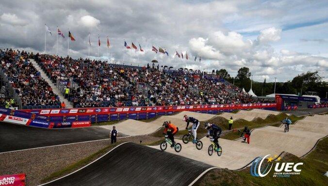 Valmierā gaidāmajā Eiropas BMX čempionātā startēs 1060 dalībnieki