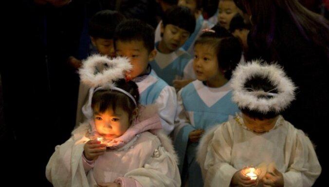 Ķīnas augstskolā aizliedz Ziemassvētkus