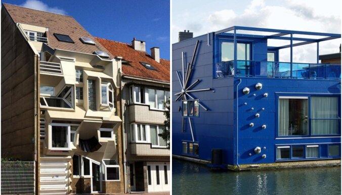 Īstens meistardarbs vai kļūme? Mājokļi visā pasaulē ar ērmīgu arhitektūru un iekārtojumu