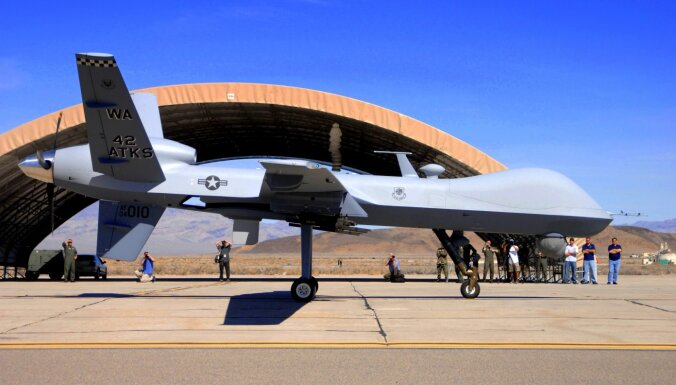 Krievijai netīk ASV plāni atcelt ierobežojumus dronu tirdzniecībai