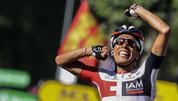 Kolumbiešu riteņbraucējam Pantano par dopinga lietošanu četru gadu diskvalifikācija