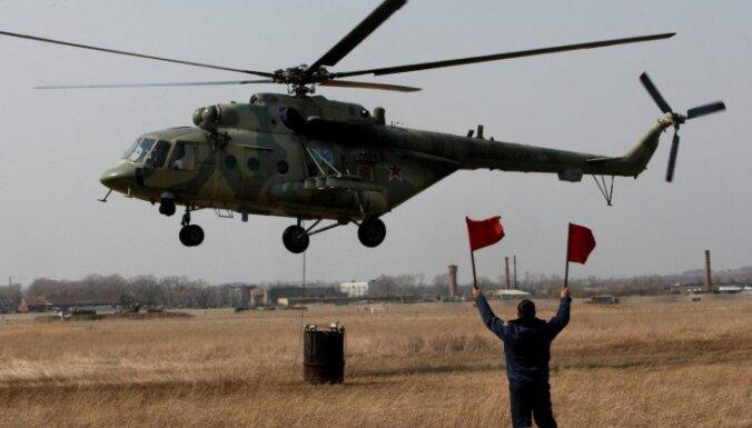 Kongo avarē ANO helikopters
