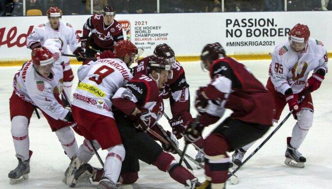 Latvija - Baltkrievija, hokejs