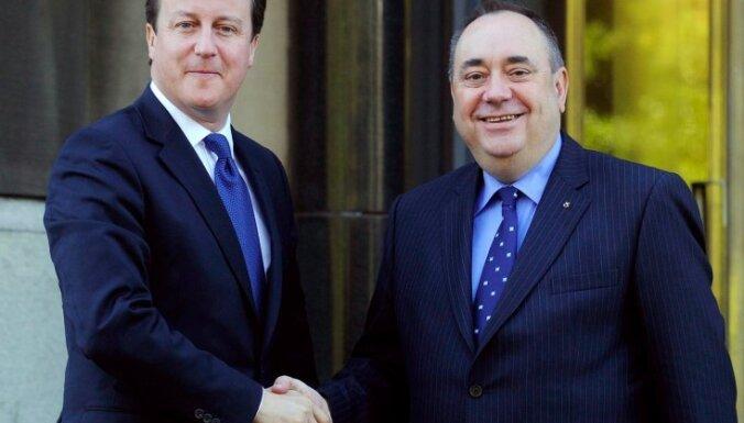 Skotijā 2014. gadā notiks referendums par neatkarību no Lielbritānijas