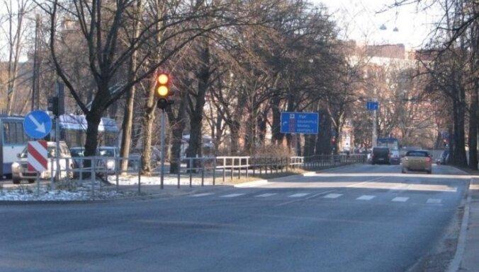 Опасные перекрестки Риги: пересечение улиц Гоголя и Дзирнаву