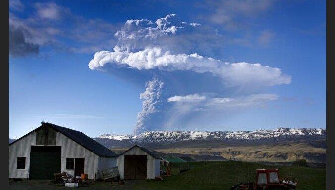 Īslandē 'pamodies' aktīvākais vulkāns Grimsvotns