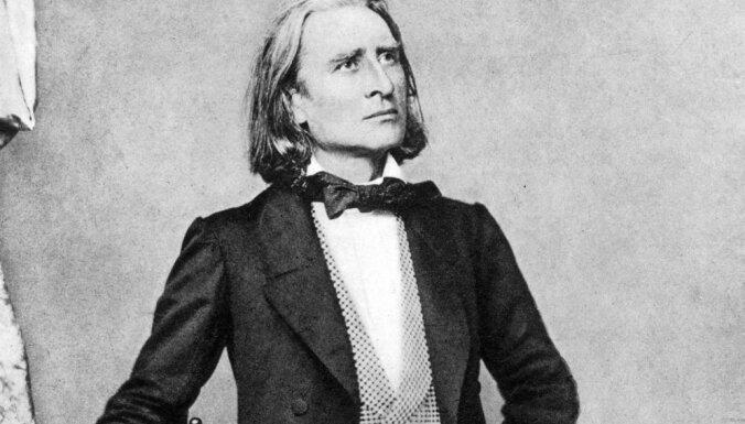 No aitu gana dēla līdz komponistam. Ferencs Lists un Budapeštas festivāla orķestris