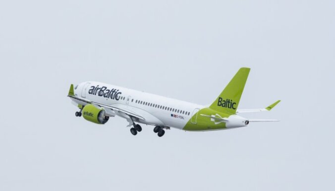 Lidsabiedrība 'airBaltic' uzsāks lidojumus jaunā maršrutā starp Rīgu un Jekaterinburgu