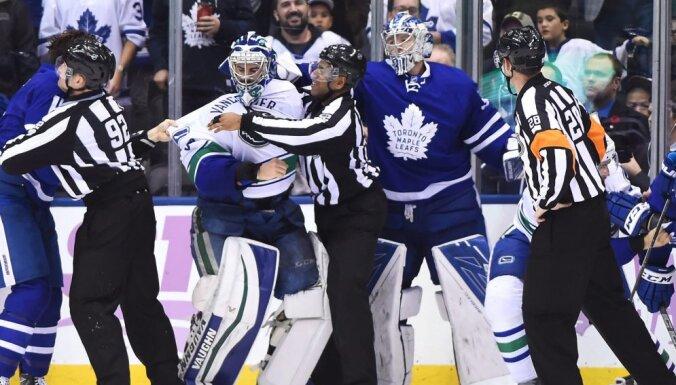 Vancouver Canucks Ryan Miller, Toronto Maple Leafs Frederik Andersen