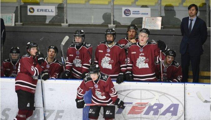 'Rīgas' hokejisti izcīna šosezon pārliecinošāko uzvaru MHL čempionātā