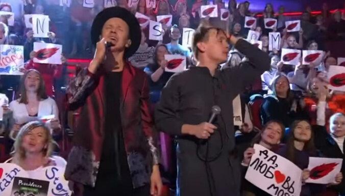Video: 'Prāta vētra' uzstājas populārajā Ivana Urganta šovā