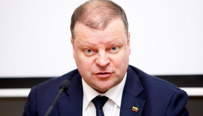Премьер-министр Литвы в связи с коронавирусом рекомендует избегать мест массового скопления людей