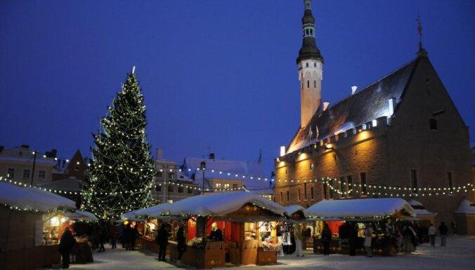 Tallinā jau atvērts Ziemassvētku tirdziņš