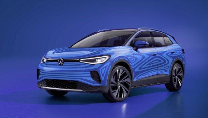 VW prezentējis savu pirmo elektrisko apvidnieku 'ID.4'