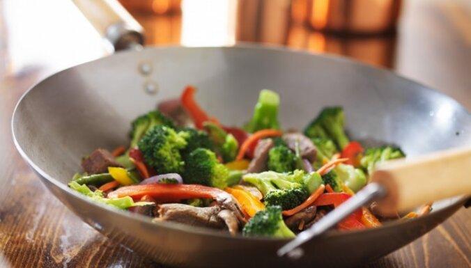 Сковорода вок: готовим быстро, вкусно и полезно